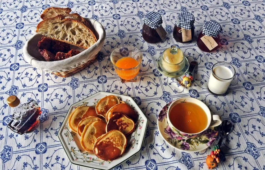 Le petit déjeuner fait maison